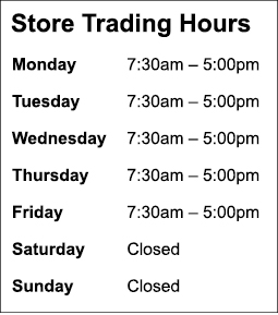 water-dynamics-longford-store-trading-hours