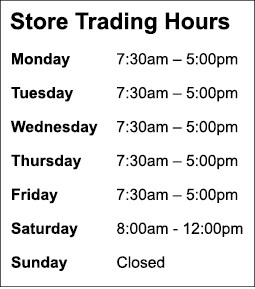 Water-Dynamics-Mt-Gambier-Store-Spring-Summer-Trading-Hours