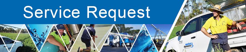 Water Dynamics Service Request Form - best irrigation solutions every time from your local irrigation specialists.