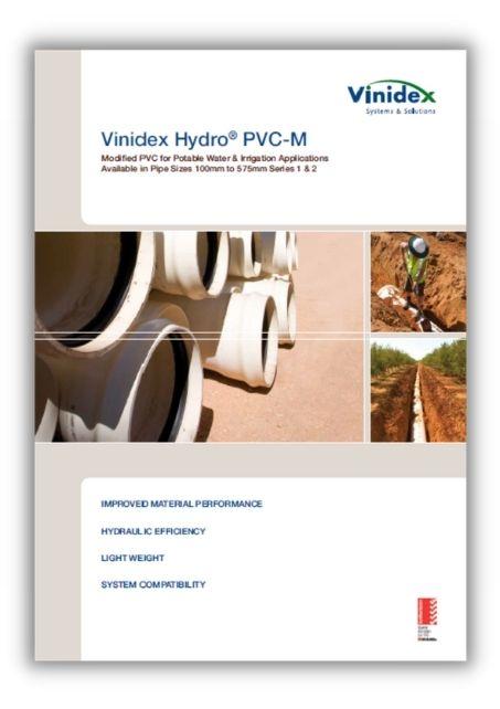 vinidex hydro pvc m