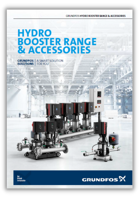 hydro booster range and accessories grundfos
