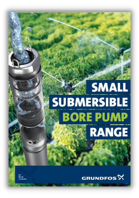 small submersible bore pump range grundfos water dynamics